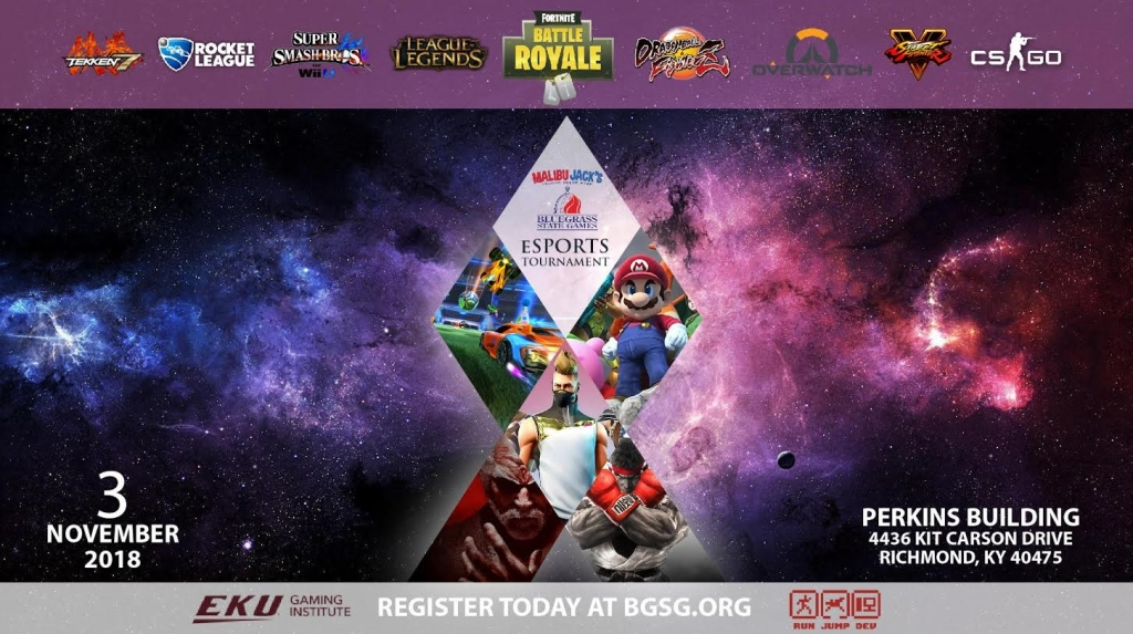 Bluegrass State Games ESports Event   Gaming Institute