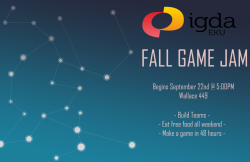 Fall Game Jam Flyer
